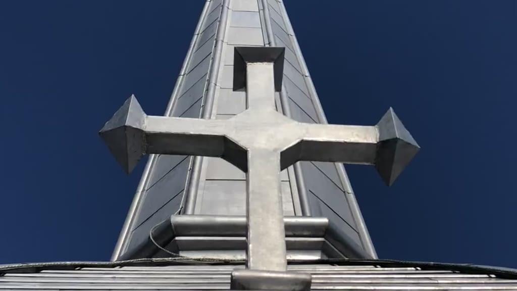 st annes church tecumseth ontario banner