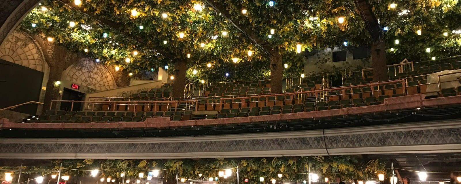 Expertise - The interior balcony of Elgin & Winter Garden Theatre in Toronto, Ontario