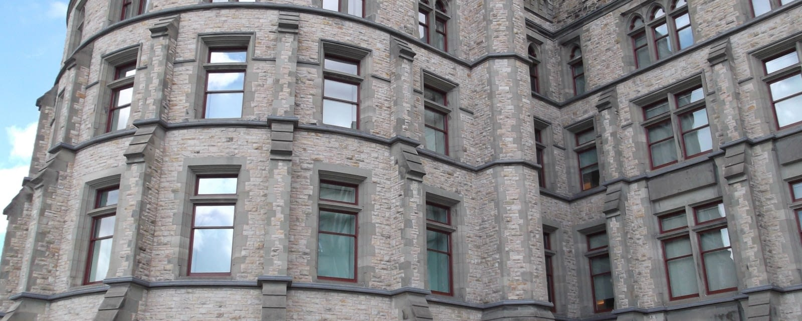 Exterior window restoration at the Canadian Museum of Nature in Ottawa, Ontario