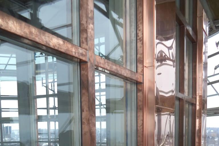 Metal clad window restoration at St.Augustine's Seminary in Toronto, Ontario
