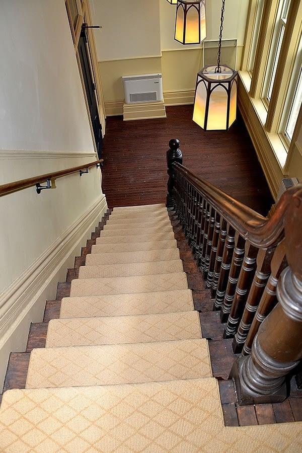 141 McCaul Street Interior Finishing of Stairs