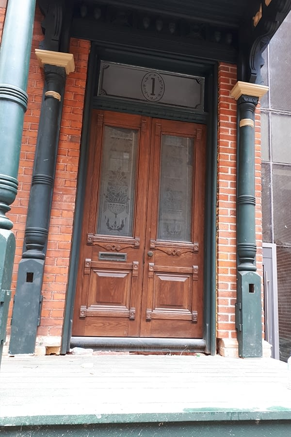 Exterior Carpentry and Masonry Restoration for 7 St Thomas Street Toronto