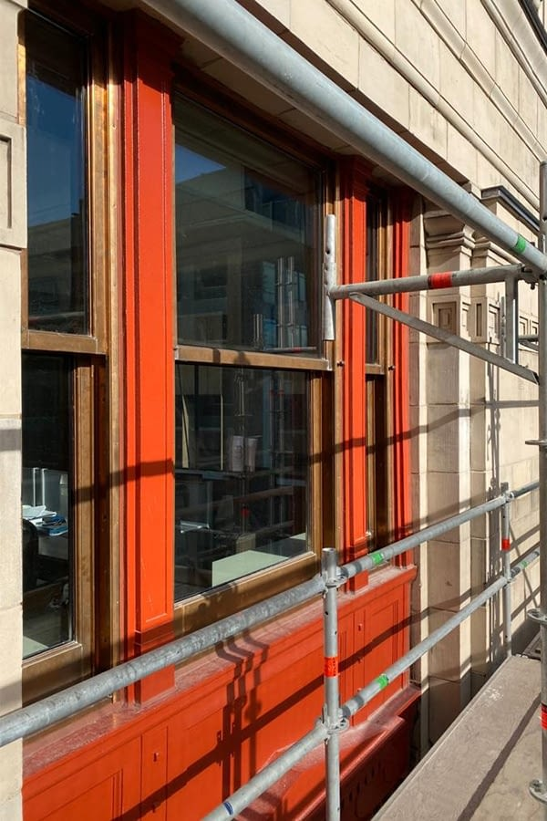 8 King Street Copper Window Replacement Process and work