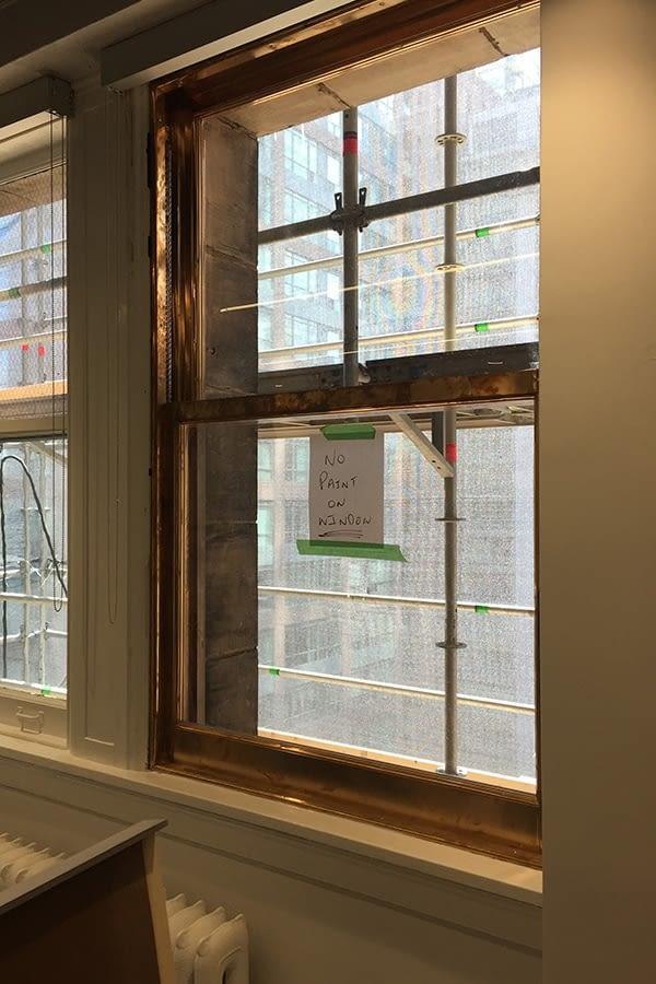 8 King Street Copper Window Replacement