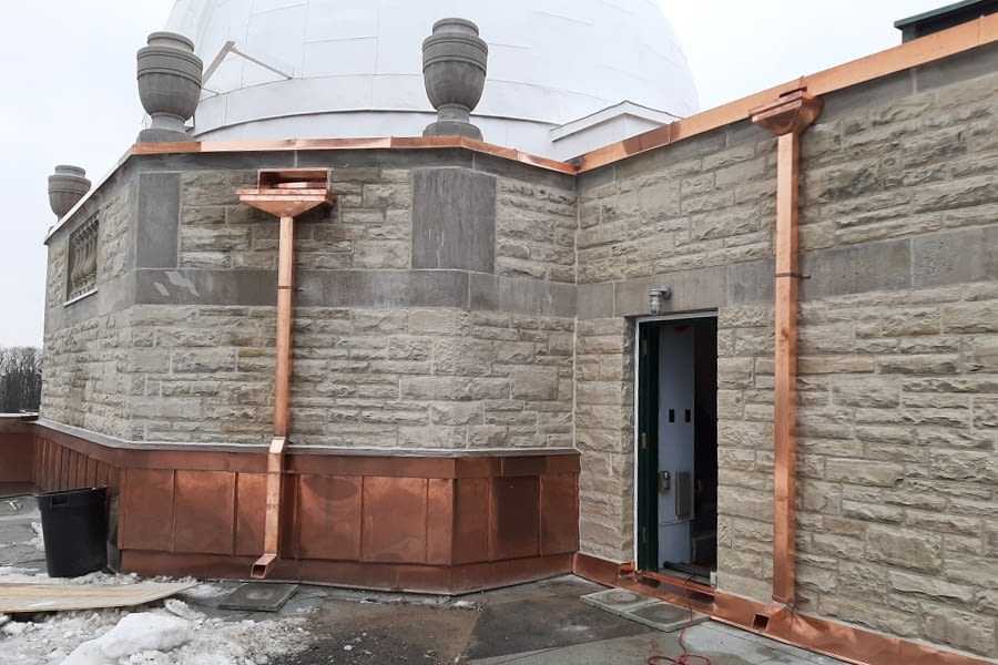 David Dunlop Observatory Stone Replacement