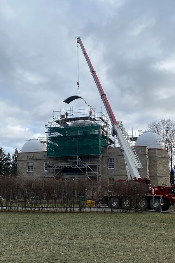 David Dunlop Observatory Coppersmith and Waterproofing Work