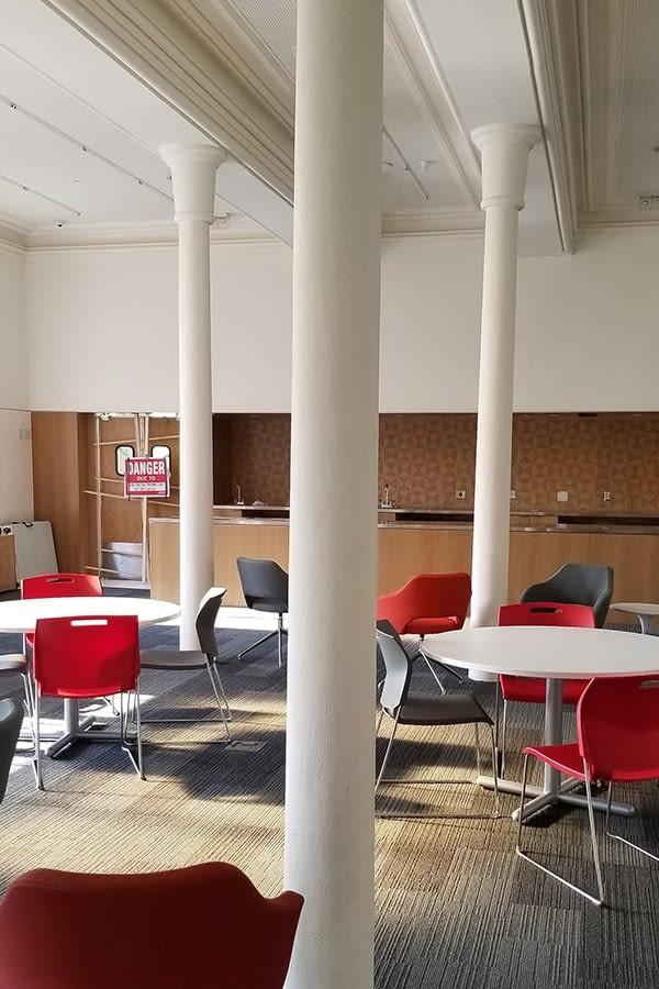 Former Galt Post Office Masonry Interior Work