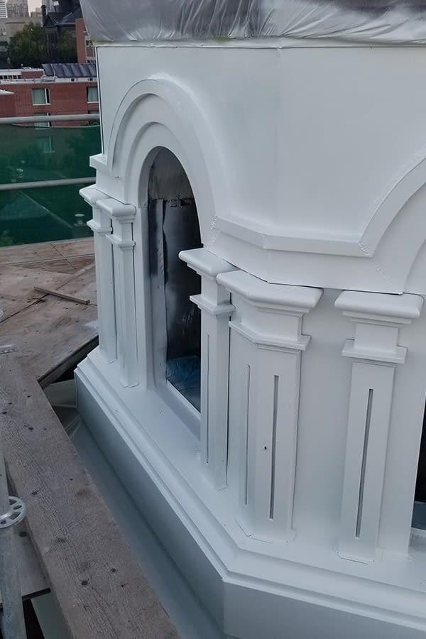 Holy Trinity Russian Orthodox Church Masonry Work Side Building