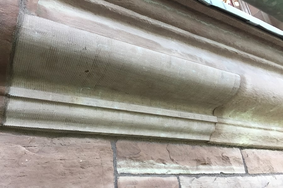 Ontario Legislative Building Carpentry Exterior Work Left View
