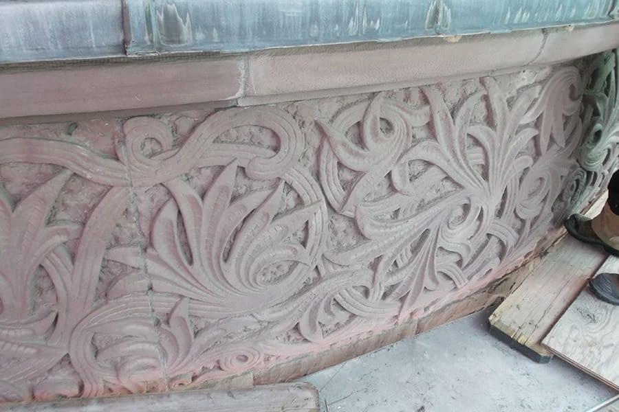 Ontario Legislative Building Masonry Details Close Up Left Side
