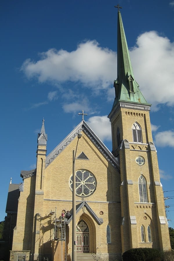 Our Lady of Mercy Church Full Church View Restoration Project