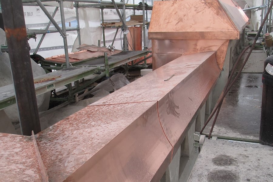 Royal York Hotel Sheet Metal Copper Replacing