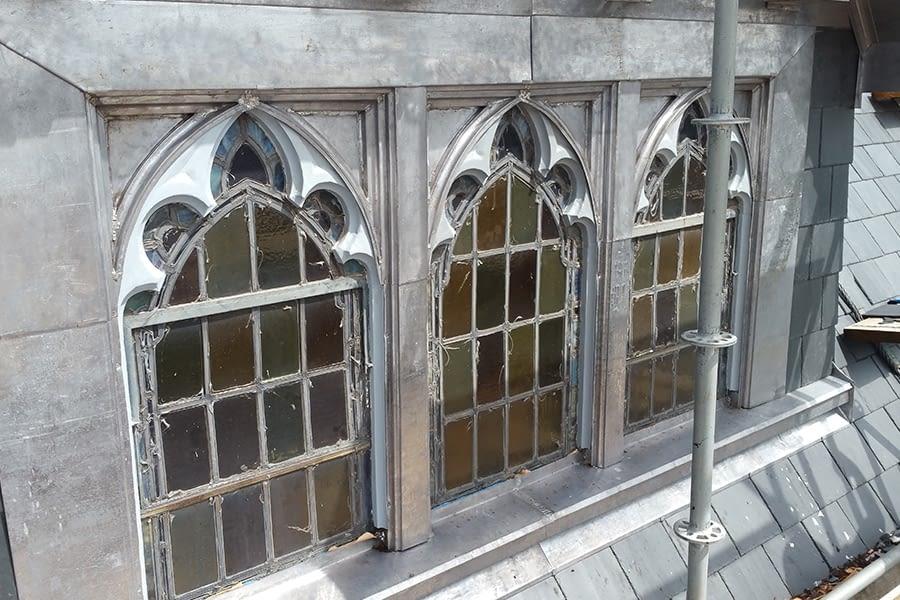 St Brigids Church Scaffolding and Masonry Work