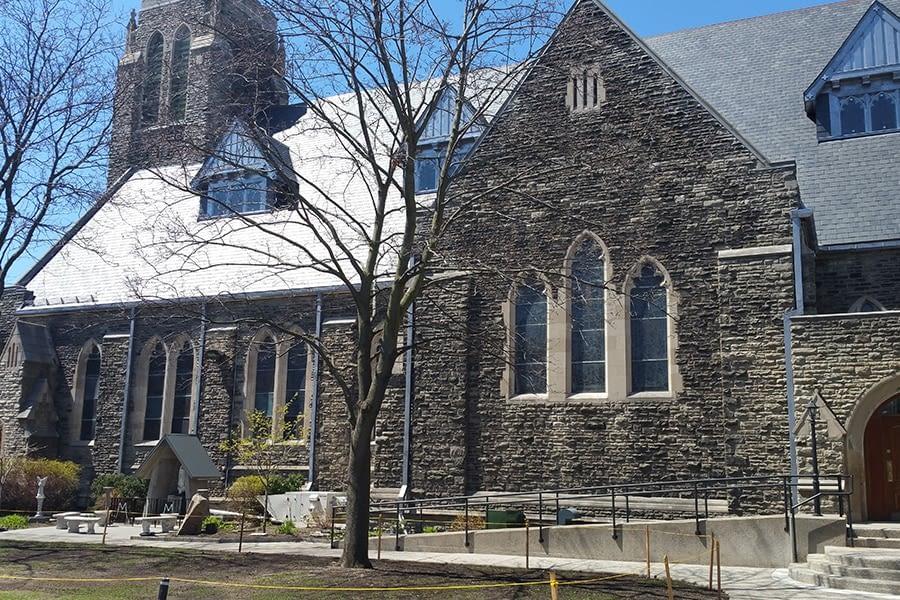St Brigids Church Masonry Reconstruction