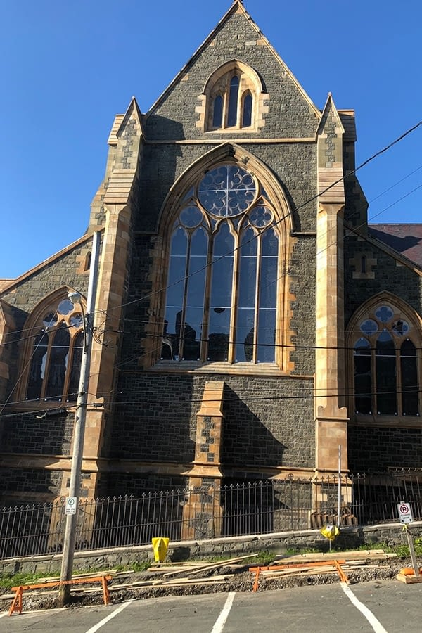 St. John's Exterior Masonry and Window Replacements