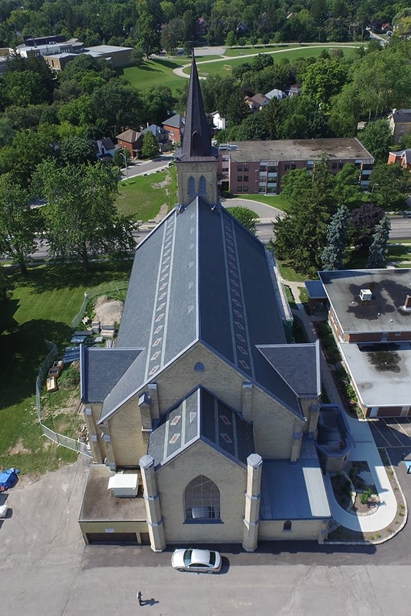 St. Joseph's Roman Catholic Church Slate Roof Restoration and Replacement