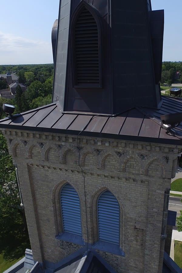St. Joseph's Roman Catholic Church Exterior Restoration Slate Roof and Copper Flashings