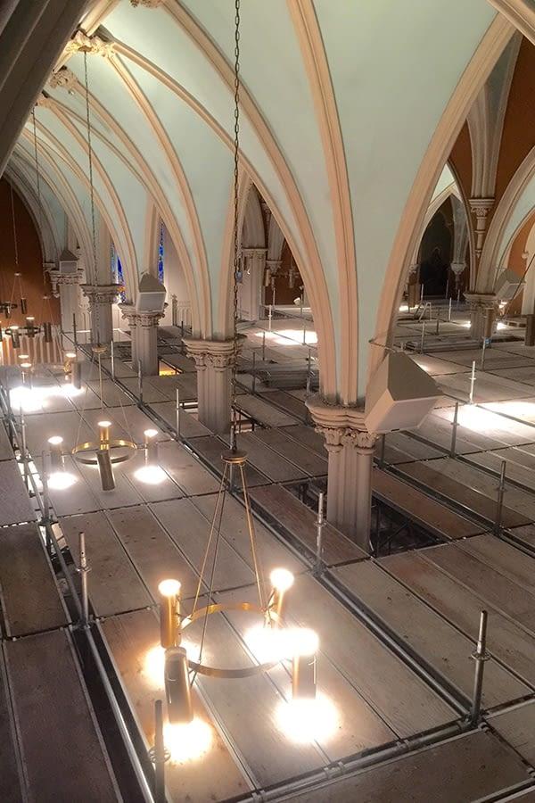 St. Joseph's Roman Catholic Church Interior Flooring, Mural and Lighting Repairs