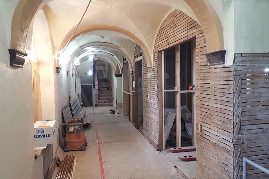 St. Peter's Interior Masonry and Heritage Mason Team