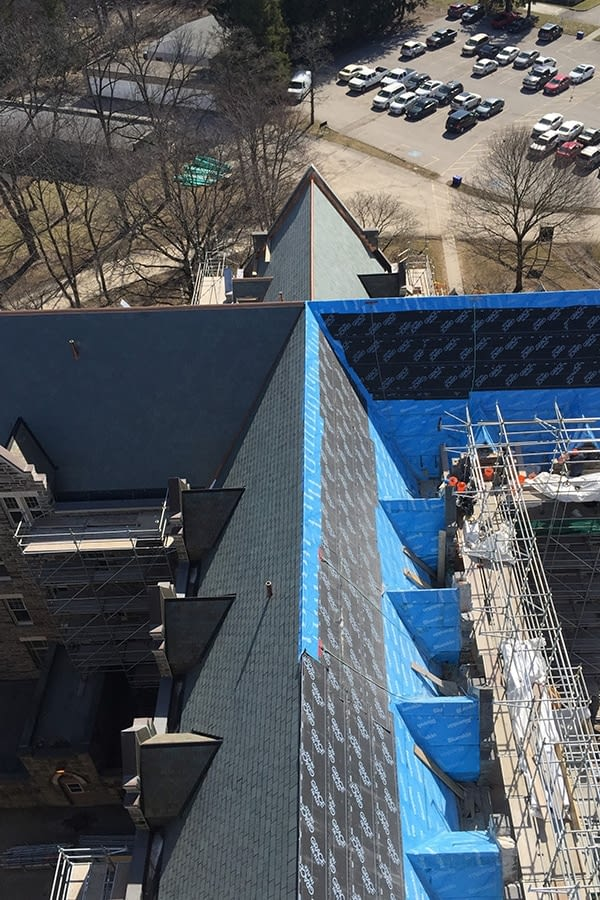St Peter's Seminary Slate Roof Replacement and Gutters