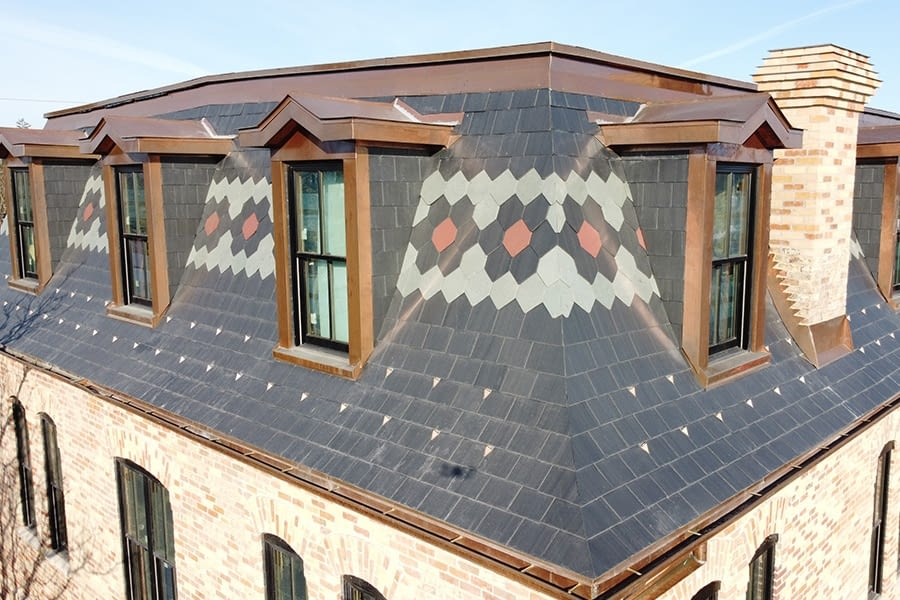 Stouffville Junction Roofing Replacement and Restoration Front View